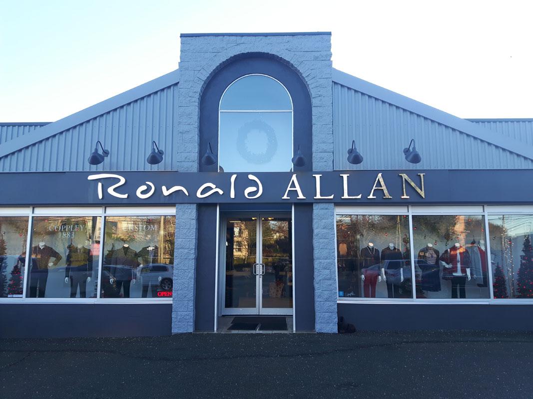 Ronald Allen 3D letters